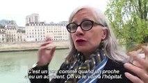 Notre-Dame: les Parisiens au chevet de la cathédrale mutilée