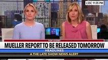 Stephen Colbert's Hilarious Skit Of Spoof 'Redacted' Mueller Report Audiobook