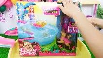 Barbie Et Piscine de Glissière d'Eau de la Piscine du Parc partie, Barbie Piscine Chiot باربي Barbie Piscina & Deslizar