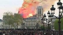 Notre-Dame de Paris: le FILM de l'incendie
