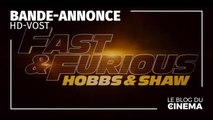 FAST & FURIOUS : Hobbs & Shaw : bande-annonce 2 [HD-VOST]