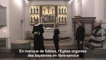 Danemark: le baptême en libre-service attire de nouveaux fidèles