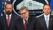 William Barr: What Mueller found on Trump and obstruction of justice