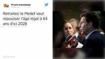 Retraites. Le Medef veut repousser l'âge légal à 64 ans d'ici 2028
