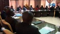 RTG - Audience du Premier ministre avec le ministre du budget, le ministre délégué à l'économie et d'autres personnalités