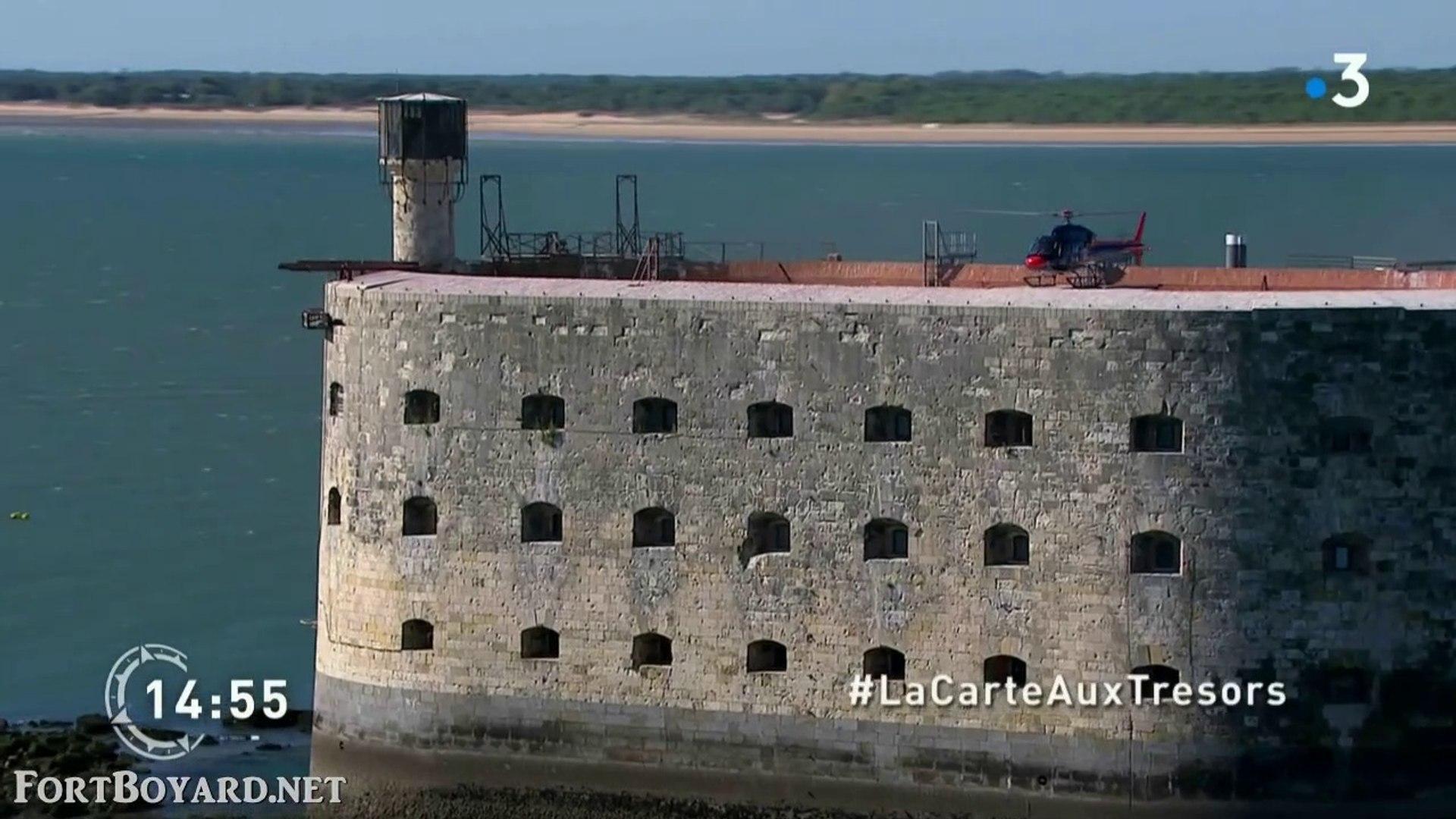 Carte Au Tresor Fort Boyard.La Carte Aux Tresors Charente Maritime Escale A Fort Boyard Enigme 3 France 3 17 Avril 2019