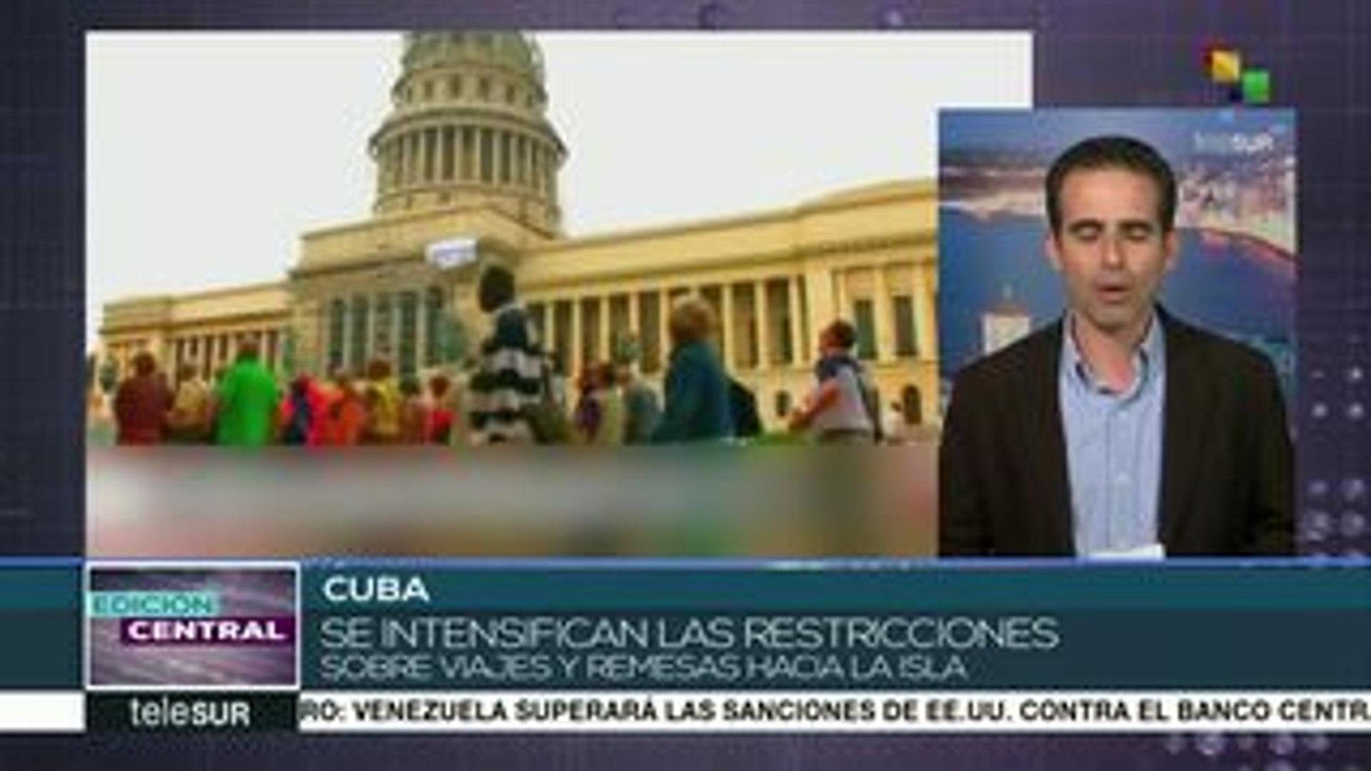 Cuba rechaza aplicación de Ley Helms-Burton por parte de EE.UU.