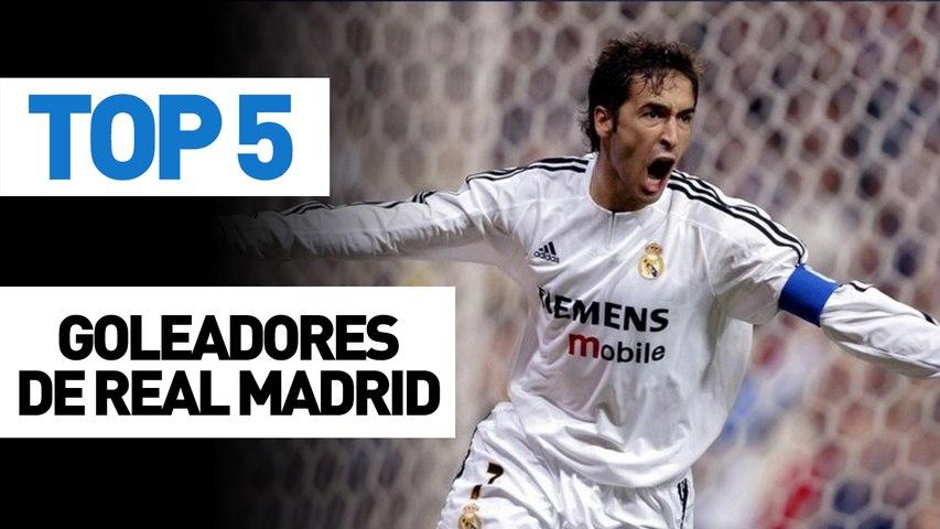 Top 5 goleadores del Real Madrid