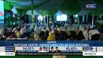 Jokowi Unggul <i>Quick Count</i>, Ratusan Santri Jabodetabek Gelar Doa Bersama