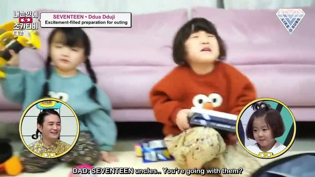 [Engsub] 190303 Nephew TV In My Hands - Jeonghan & Mingyu CUT (2) FINAL by Like17Subs