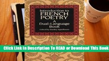 Online Introduction to French Poetry: A Dual-Language Book  For Free