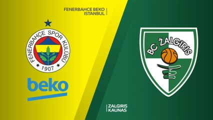 EuroLeague 2018-19 Highlights Playoffs Game 2 video: Fenerbahce 80-82 Zalgiris