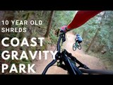 Ten-Year-Old Biker Makes Crazy Jumps on Pro Dirt Trail