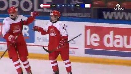 Mondial 1A U18. Résumé de Danemark-France (5-3)