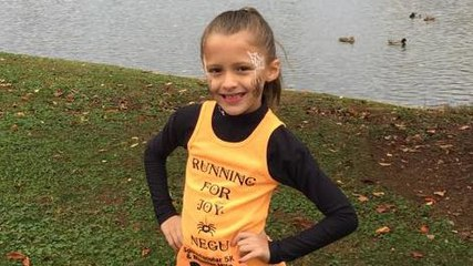 This 11-Year-Old Has Raised $50,000 for Pediatric Cancer Through Running