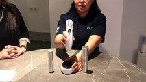 مرحلة تنظيف البشرة مع  جهاز + Physio Radiance Visage