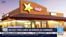 New York is amazing: Un fast food lance un burger au cannabis - 18/04
