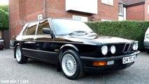 1987 BMW E28 520i M Style Restoration Project