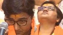 Sadhvi Pragya Thakur breaks down alleging 'Torture' in Jail, Slams Congress   Oneindia News