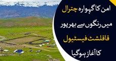 The four-day Qaqlasht festival kicks off in Upper Chitral