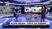 """Bouleversé, Alain Delon évoque le suicide de son amie Dalida """"J'aurais voulu être là pour l'empêcher de partir"""" - Vidéo"""