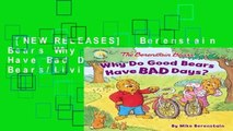[NEW RELEASES]  Berenstain Bears Why Do Good Bears Have Bad Days? (Berenstain Bears/Living