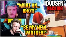 """Ninja, Tfue & Streamers LOSES IT After """"Pro Player"""" Caught HACKING in World Cup and Qualifying! 