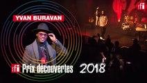 """Yvan Buravan, Prix Découvertes RFI - """"Garagaza"""" en Live"""