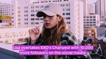 Blackpink's Lisa is now the most followed K-Pop Idol on Instagram