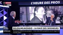 """Ça m'a rendu malade"" : Alain Delon évoque l'AVC de son ami Jean-Paul Belmondo"