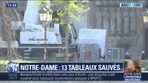 13 tableaux sauvés de Notre-Dame