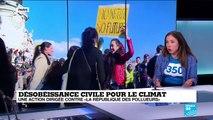 """Désobéissance civile pour le climat: """"Ce qui est radical c'est de perpétuer le statut quo"""""""