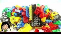Train Toys Construction Vehicles for Kids Lego Duplo Video Learn Colors with Toy Vehicles for Kids