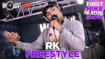 RK : Freestyle sur un son de 2 Bal & Mystik (Live @Mouv' Studios)