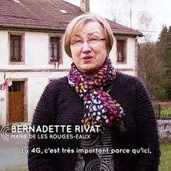 4G Vosges - Témoignage de Bernadette Rivat, Maire des Rouges-Eaux