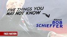 Five things you may not know about Bob Schieffer