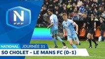 J31 : SO Cholet - Le Mans FC (0-1), le résumé I National FFF 2018-2019