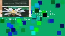 About For Books  Crisis Assessment, Intervention, and Prevention: Volume 3 (What s New in