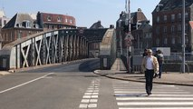 Le pont tournant Colbert de Dieppe