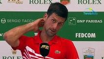 """ATP - Rolex Monte-Carlo 2019 - Novak Djokovic : """"Roland-Garros reste le but ultime !"""""""