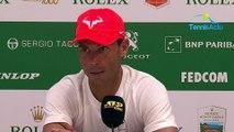 """ATP - Rolex Monte-Carlo 2019 - Rafael Nadal bousculé par Guido Pella : """"C'est le tennis"""""""