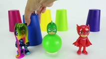 Pj Masques de Boules - Apprendre les Couleurs avec Pj Masques Surprise Jouets