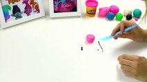 How to Make Papa Smurf & Princess Poppy  Trolls fll mvie  Play-Doh Craft Videos  Crafty Kids