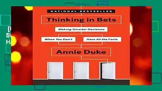 [GIFT IDEAS] Thinking in Bets: Making Smarter Decisions When You Don t Have All the Facts by