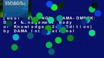 [BEST SELLING]  DAMA-DMBOK  Data Management Body of Knowledge (2nd Edition) by DAMA International