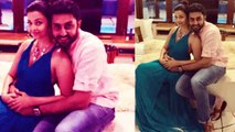 Aishwarya Rai Bachchan goes romantic with husband Abhishek Bachchan; Check Out | FilmiBeat