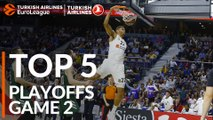 Top 5 Plays  - Turkish Airlines EuroLeague Playoffs Game 2