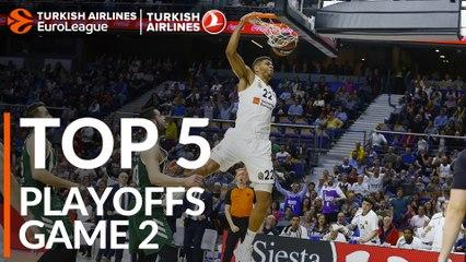 Playoffs, Game 2: Top 5 plays