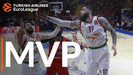 Playoffs Game 2 MVP: Vincent Poirier, Baskonia