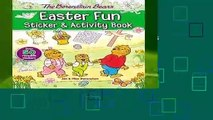 [MOST WISHED]  The Berenstain Bears Easter Fun Sticker and Activity Book (Berenstain Bears/Living